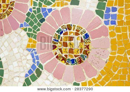 Mosaic. Modernist Art (also Called Art Deco)