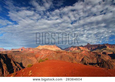 Rugged Grand Canyon Scene