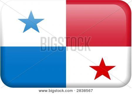 Panama Flag Button