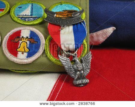 Eagle Scout premio en Bandalo
