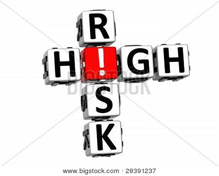 3D High Risk Crossword
