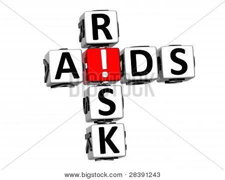3D Aids Risk Crossword