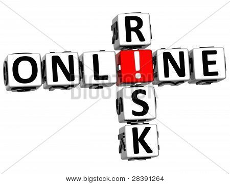 3D Online Risk Crossword