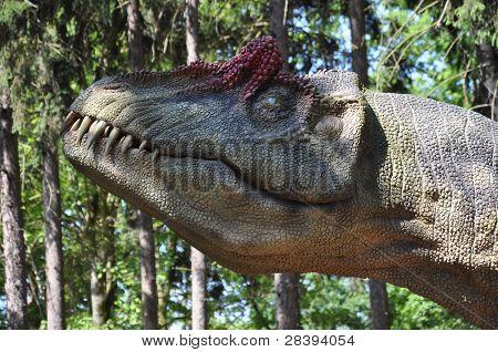 Dinousaur head