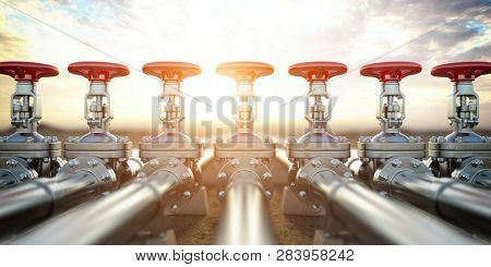 Oil or gas pipe line