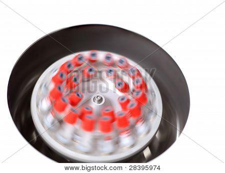 Centrifuge Spinning