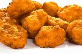 image of chicken wings  - buffalo wings macro XL close view low angle - JPG