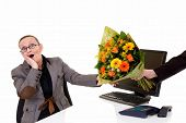Secretary Day, Gesture Flowers
