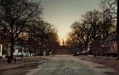Duke Of Gloucester Street At Dawn
