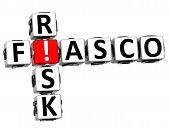 pic of fail-safe  - 3D Fiasco Risk Crossword on white background - JPG