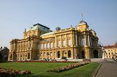 The Croatian National Theatre - Zagreb, Croatia