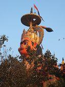 Постер, плакат: Хануман статуя в Дели Индия