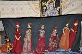 image of rajasthani  - Rajasthani Puppet Dance from Rajasthan in India - JPG