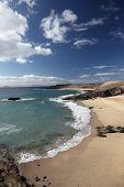 foto of papagayo  - Beach on the Canary Island Lanzarote Spain - JPG