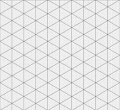 Isometric Graph Paper Background. Measured Grid. Graph Plotting Grid. Corner Ruler With Measurement  poster