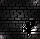 stock photo of moto-x  - Abstract black background - JPG