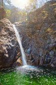 Biryong Falls Waterfall in Seoraksan National Park, South Korea poster
