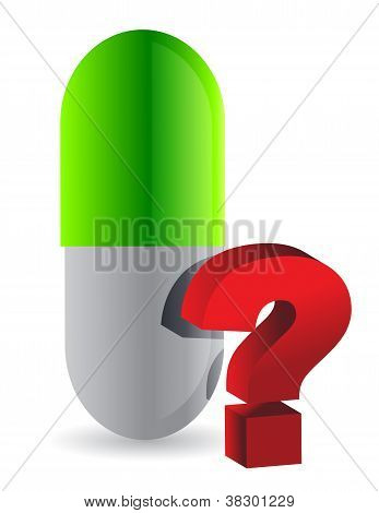 Pill With Unknown Content