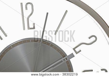 Abstract Daylight saving time ends