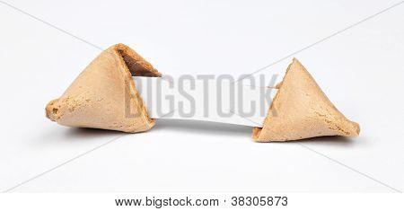 Broken Fortune Cookie