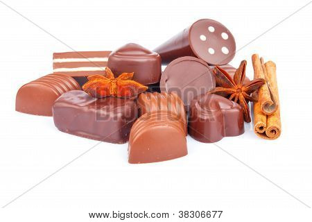 Chocolate Sweets And Spice