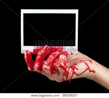 Bloody Instant Photo I