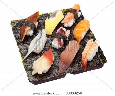 Sushi Set Of Nine