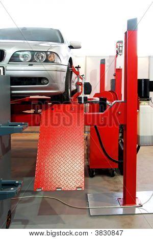 Auto serviço garagem