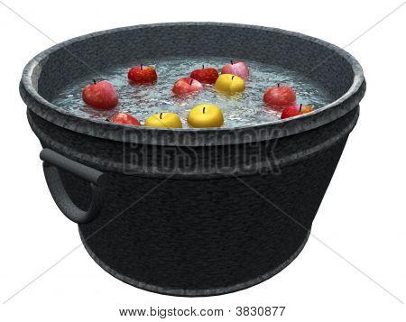 Apple Bobbing Bin