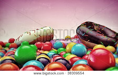 Donuts And Gumballs