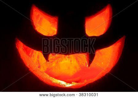 Hallowen Terrifying Face