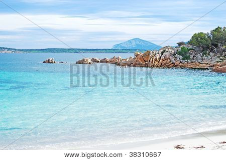 Turquoise Water In Capriccioli