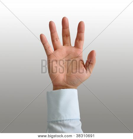 Businessman Hand