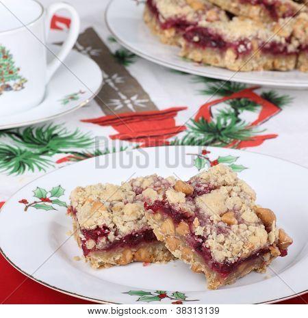 Cranberry Christmas Bars