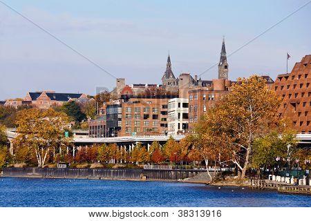 Georgetown Waterfront Park, Washington DC..