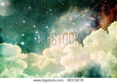 Himmlische Aussicht