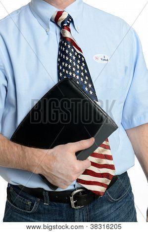 Blue Jeans Business Patriot Voter