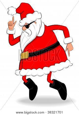 Boogie Santa