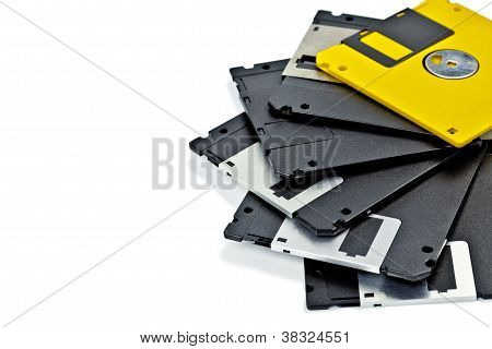 Set Of Old Diskette