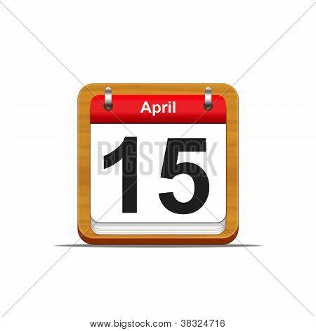 15. April.