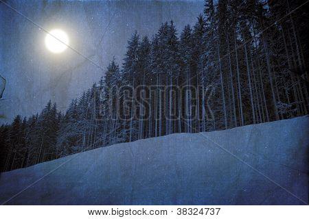 Winter Unreal Landscape
