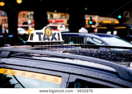 Taxi In Stockholm City