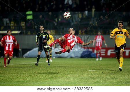 Football Match Between Aris F.c. And Olympiakos F.c.