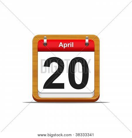 20. April.