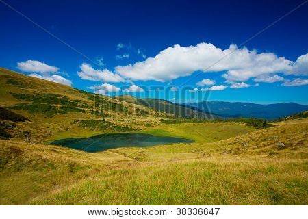 Lake in mountain