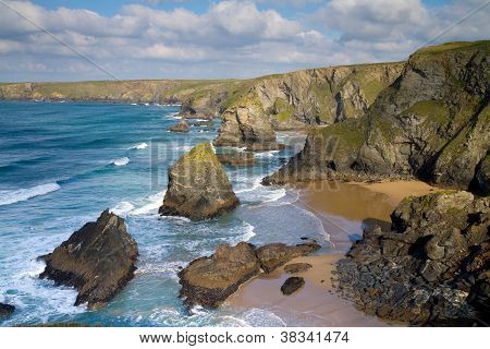 North Cornwall BedruthanEngland UK