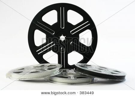 Film Reels Background