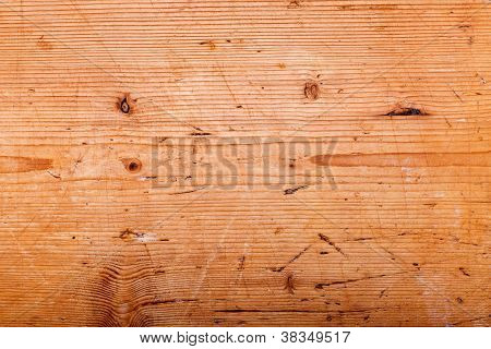 Wooden Background With Imperfections