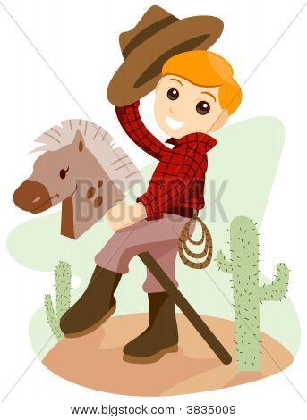 Boy On Horse Toy