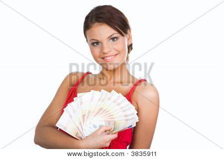 Girl With Euros